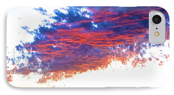 Fire In The Sky IPhone Case by Margie Amberge
