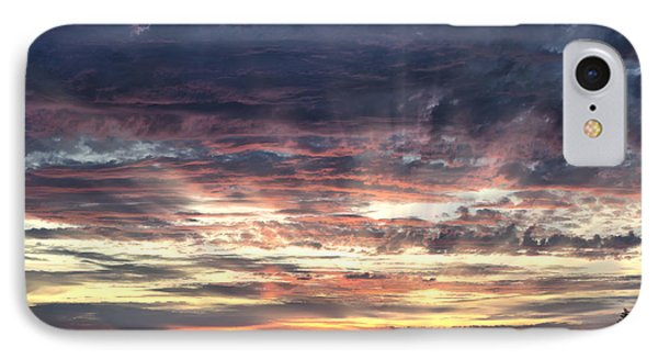 Fire In The Sky Phone Case by Sandra Bronstein
