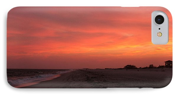 IPhone Case featuring the photograph Fire Island Sunset by Haren Images- Kriss Haren
