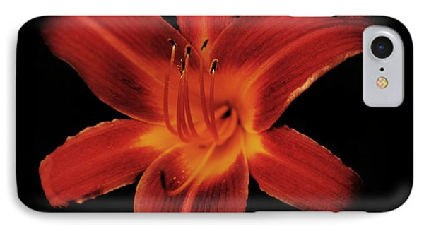 Fire Lily IPhone Case