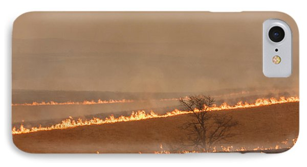 Fire Lines IPhone Case by Scott Bean