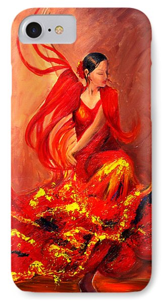Fire Of Life Flamenco IPhone Case by Sheri  Chakamian