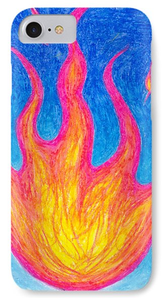 Fire Of Life IPhone Case