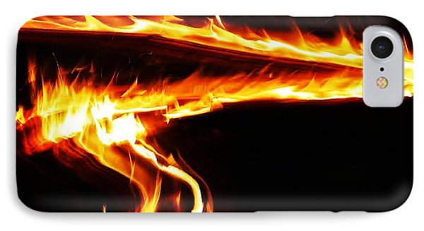 Fire On High... IPhone Case by Al Fritz