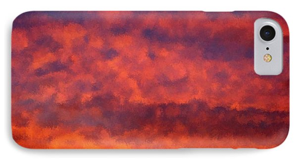 Fire On The Hillside Phone Case by Bruce Nutting