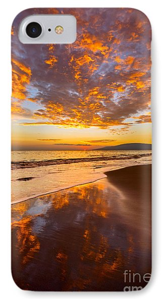 Fire Over Lahaina IPhone Case by Jamie Pham