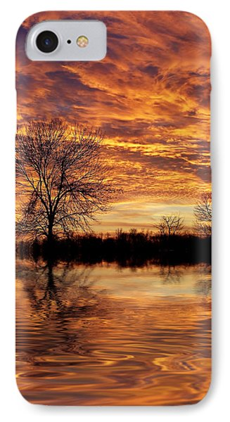 Fire Painters In The Sky IPhone Case