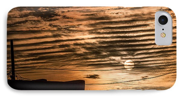 IPhone Case featuring the photograph Fire Sky by Beverly Parks