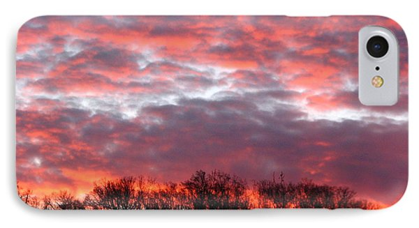 Fire Sky IPhone Case by Cleaster Cotton