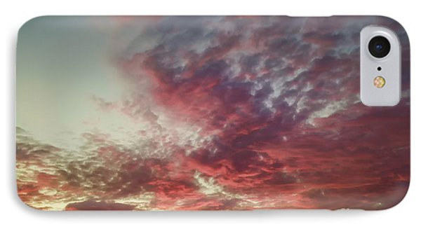 Fire Sky Phone Case by Holly Martin