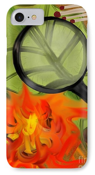 Fire Starter Phone Case by Christine Fournier