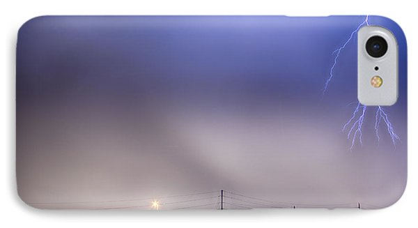Fire Station Lightning Strike IPhone Case by James BO  Insogna