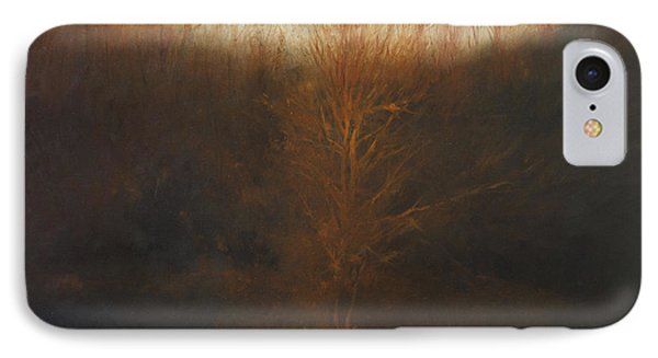 Fire Tree IPhone Case by Cap Pannell