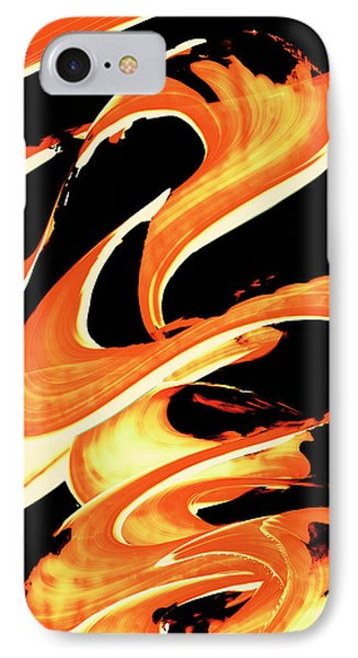 Fire Water 314 By Sharon Cummings IPhone Case by Sharon Cummings