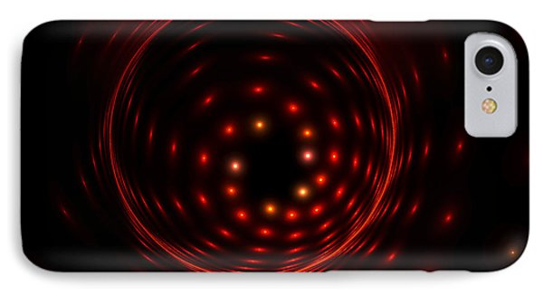 IPhone Case featuring the digital art Fireball by Hanza Turgul