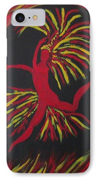 Firebird IPhone Case by Sharyn Winters