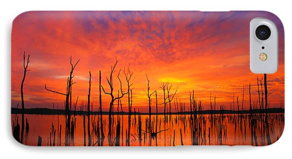 Fired Up Morn IPhone Case by Roger Becker