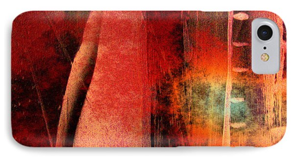 IPhone Case featuring the painting Firefall  by Yul Olaivar