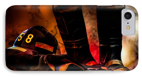 Firefighter IPhone Case