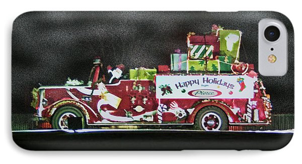 Firefighters Christmas Phone Case by Tommy Anderson