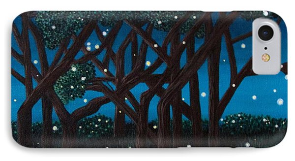 Fireflies IPhone Case by Cheryl Bailey