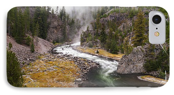 Firehole Canyon - Yellowstone Phone Case by Brian Harig