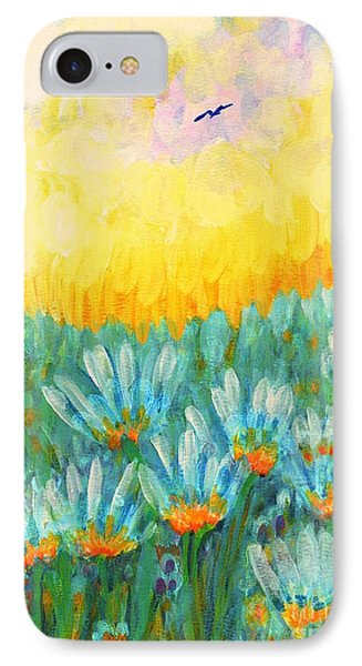 IPhone Case featuring the painting Firelight by Holly Carmichael