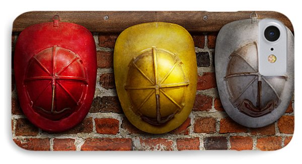 Fireman - Hats - Pick A Hat Any Hat  Phone Case by Mike Savad