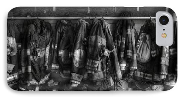 Fireman - Let No Man's Ghost Return To Say His Training Let Him Down  IPhone Case by Lee Dos Santos