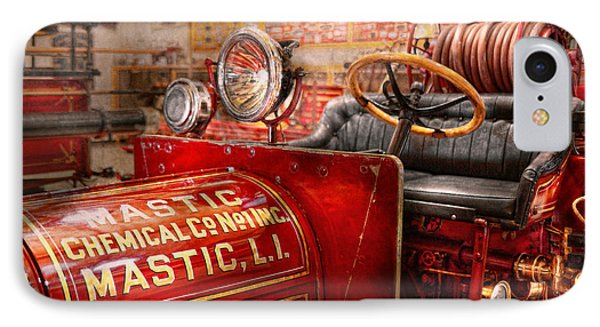 Fireman - Mastic Chemical Co Phone Case by Mike Savad