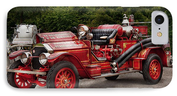 Fireman - Phoenix No2 Stroudsburg Pa 1923  IPhone Case by Mike Savad