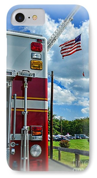 Fireman - Proudly They Serve IPhone Case by Paul Ward
