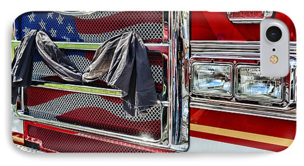 Fireman - Remembering Fallen Heroes Phone Case by Paul Ward