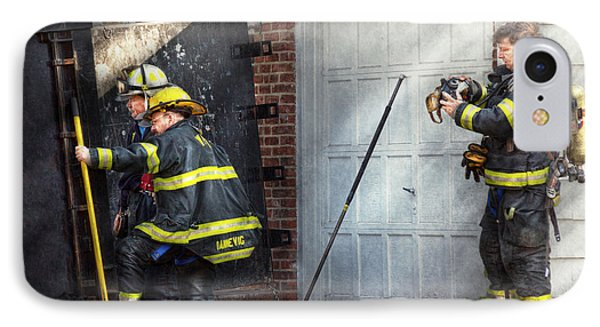 Fireman - Take All Fires Seriously  Phone Case by Mike Savad