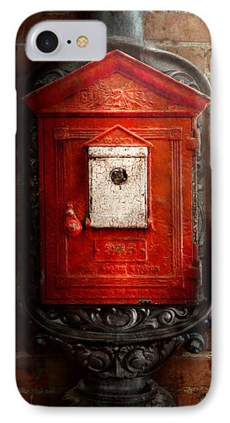 Fireman - The Fire Box Phone Case by Mike Savad