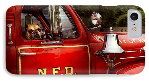 Fireman - This Is My Truck Phone Case by Mike Savad