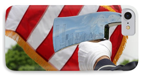 Firemans Ax - Nyc Skyline Photoshopped - New York IPhone Case