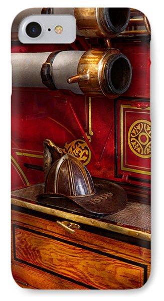 Firemen - An Elegant Job  Phone Case by Mike Savad
