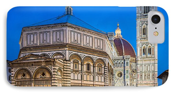 Firenze Duomo IPhone Case by Inge Johnsson