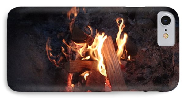 Fireside Seat IPhone Case by Michael Porchik