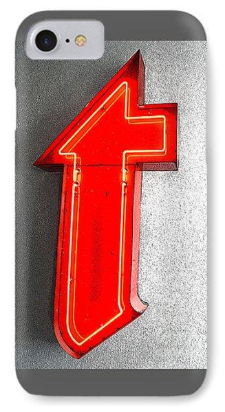 Firestone Building Red Neon T IPhone Case