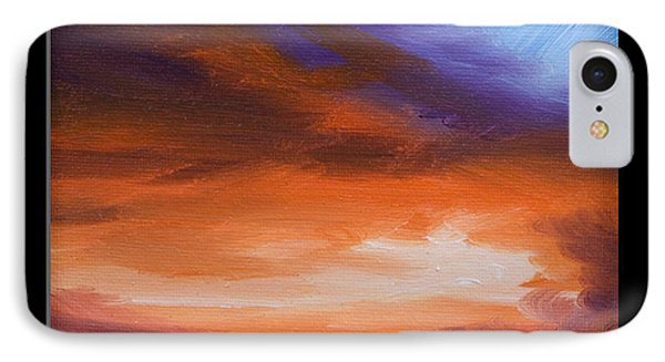 Firesun Sky IPhone Case by James Christopher Hill