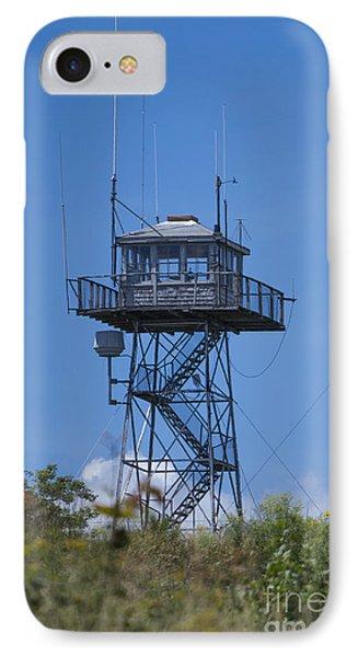 Firetower - Mt  Agamenticus - Maine IPhone Case by Steven Ralser