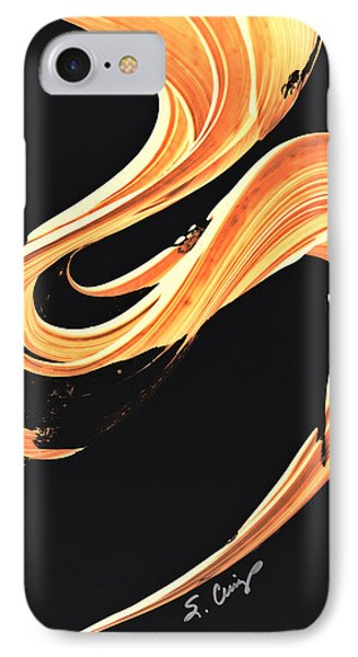 Firewater 7 - Abstract Art By Sharon Cummings IPhone Case by Sharon Cummings