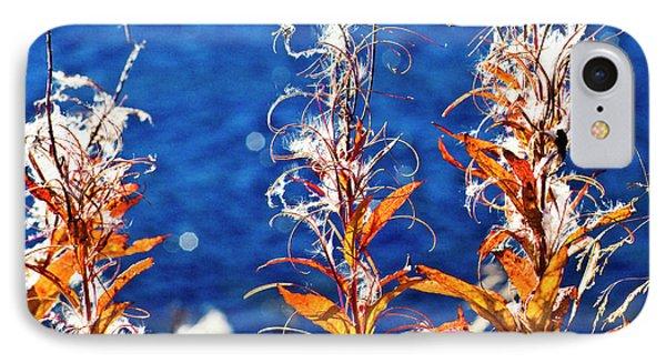 Fireweed Flower Phone Case by Heiko Koehrer-Wagner