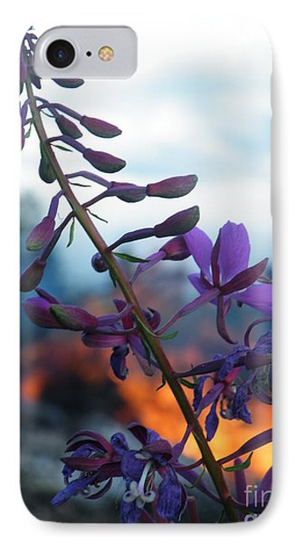 Fireweed Number Five IPhone Case by Brian Boyle