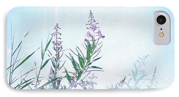 Fireweed Number Two IPhone Case by Brian Boyle