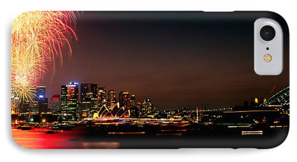 Firework Display At New Years Eve IPhone Case