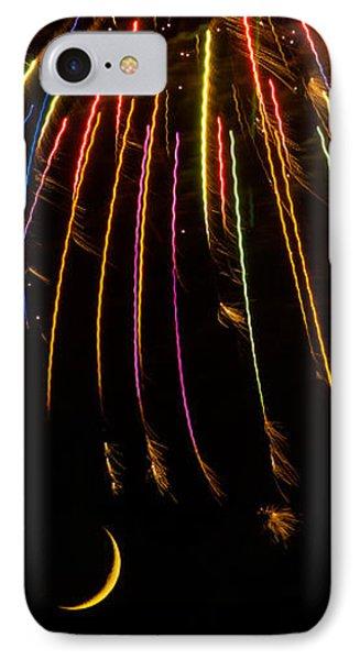 Firework Indian Headdress Phone Case by Darryl Dalton