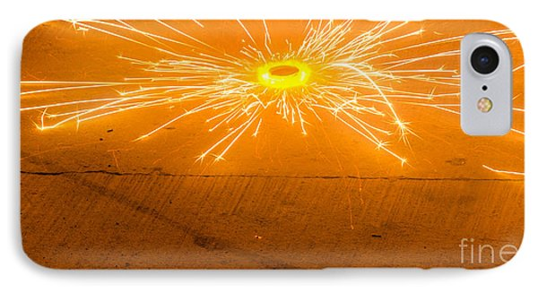 Firework Wheel Phone Case by Image World